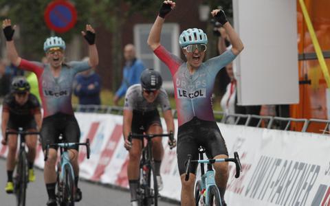 De finish van de Omloop der Kempen.