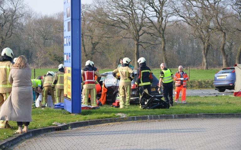 Vrouw overlijdt na ernstig ongeluk in Roden.