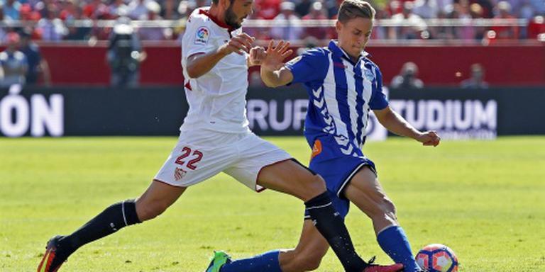 Sevilla klimt naar tweede plaats