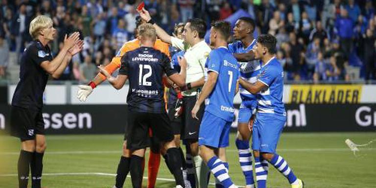 Tiental sc Heerenveen wint openingswedstrijd