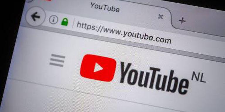 Bij groot nieuws laat YouTube ook tekst zien