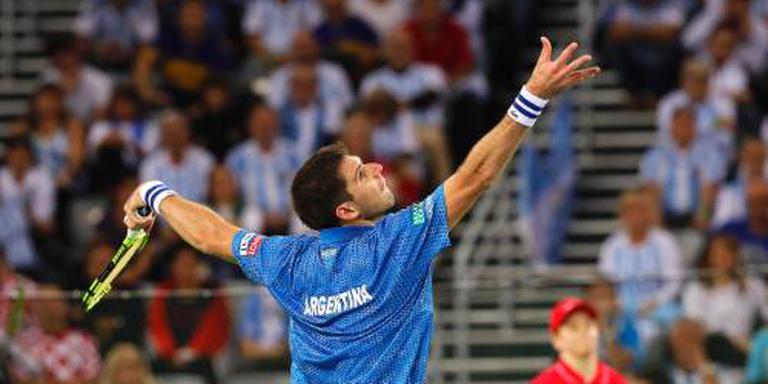 Argentijnen hebben Daviscup eindelijk binnen