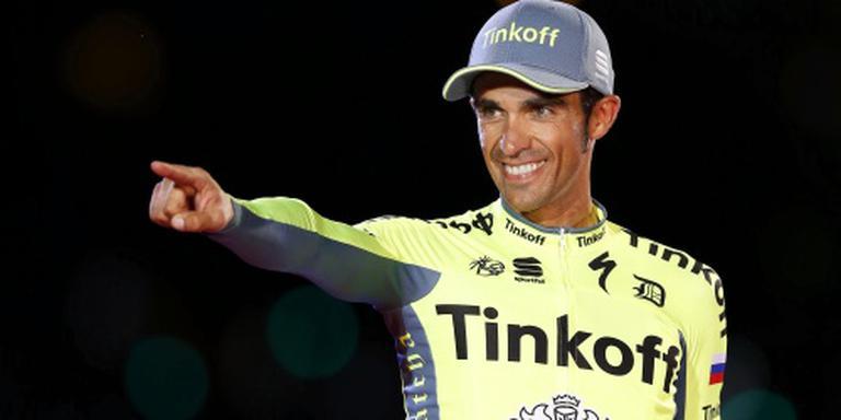 Zieke Contador niet in Lombardije