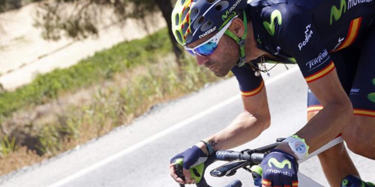 Valverde soleert naar winst in Ruta del Sol