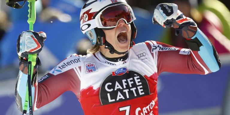 Kristoffersen verslaat Hirscher op slalom