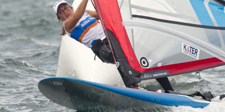WK-brons voor windsurfster De Geus