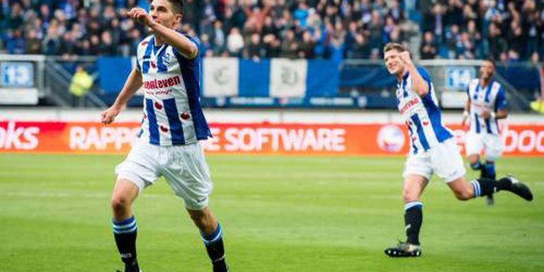 SC Heerenveen houdt bovenin prima stand