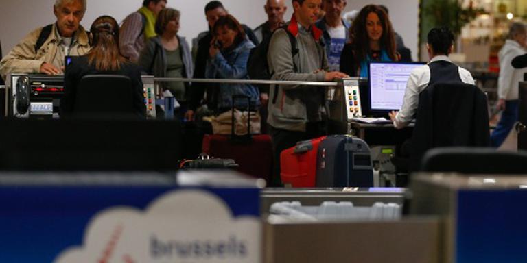 Weer wachtrijen voor Brussels Airport