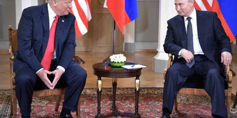 Trump en Poetin beëindigen bijeenkomst