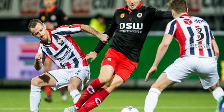 Geen treffers in matige Excelsior - Willem II