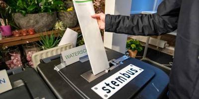 Stemmen 'en route' op station