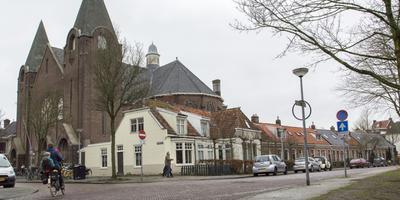 Felle discussie over bewoning Noorderkerk. Foto Roelof van Dalen