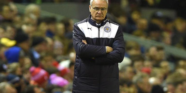 Ranieri vecht met Leicester City voor topplek