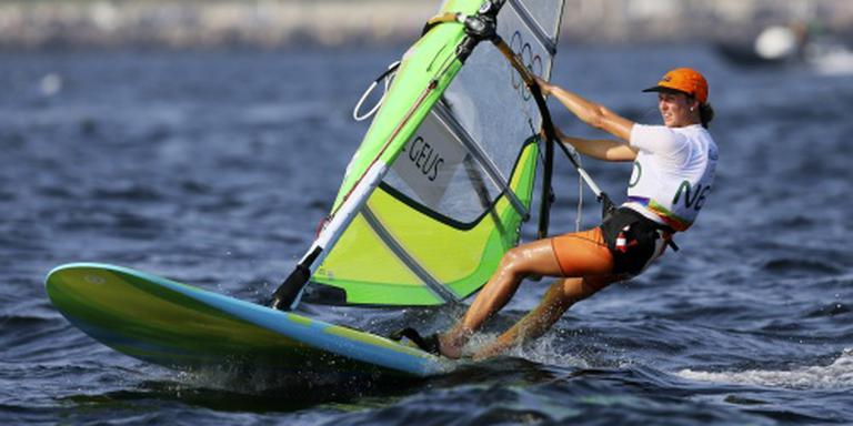 Windsurfster De Geus vierde in Rio