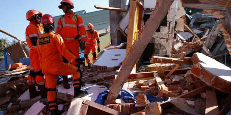 Overlevenden aardbeving Lombok gered