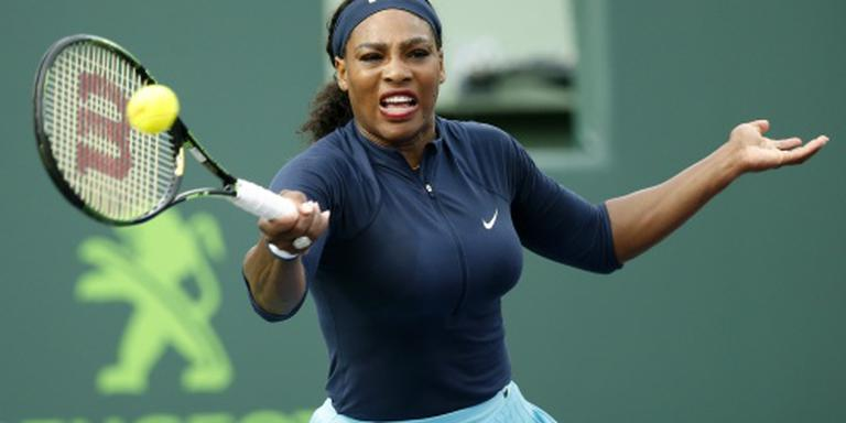 Williams heeft drie sets nodig in Miami