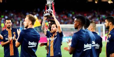 Spaanse supercup krijgt vier deelnemers