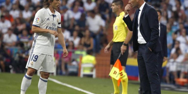 Real Madrid maandje zonder Modric