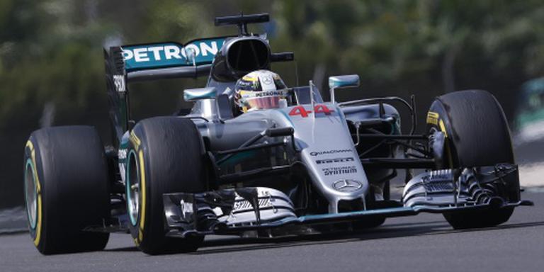 Mercedes vindt oorzaak kapotte motor Hamilton