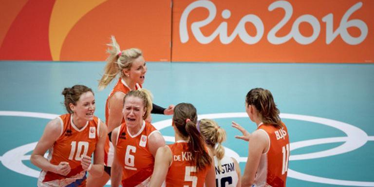 Volleybalsters treffen Zuid-Korea in kwartfinale