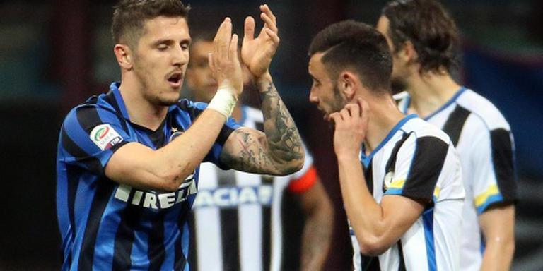 Jovetic bezorgt Inter de winst