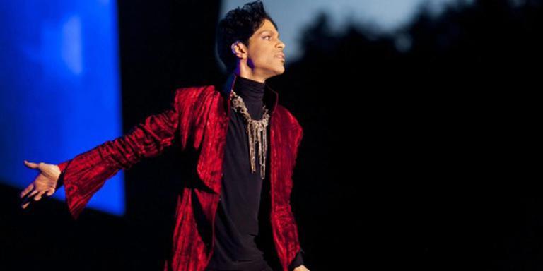 Popicoon Prince werd zaterdag in besloten kring gecremeerd.