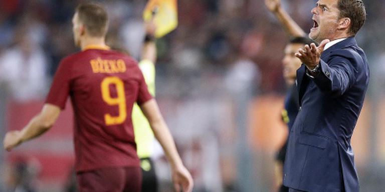 De Boer verliest met Inter bij AS Roma