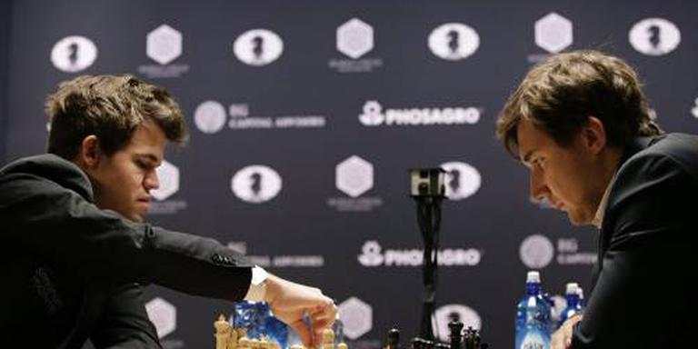 Tiebreak brengt beslissing bij WK schaken