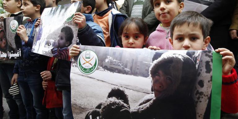 Hulpgoederen bereiken Madaya pas maandag