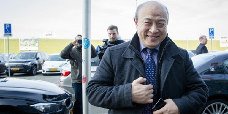 Hui Wang meldt zich eindelijk in Den Haag