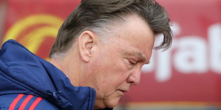 'Onnodige' nederlaag klap voor Van Gaal