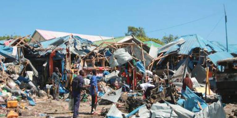 Doden door aanslag op markt Mogadishu