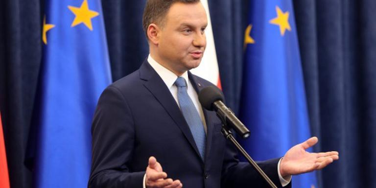 Polen protesteren tegen mediawet