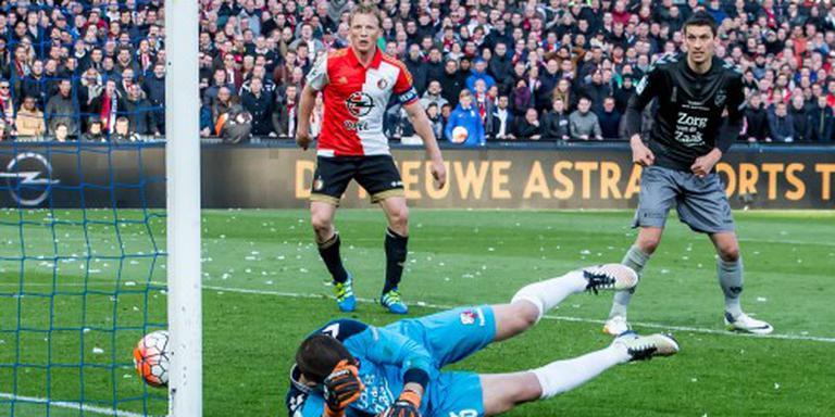 Eindelijk weer een prijs voor Feyenoord