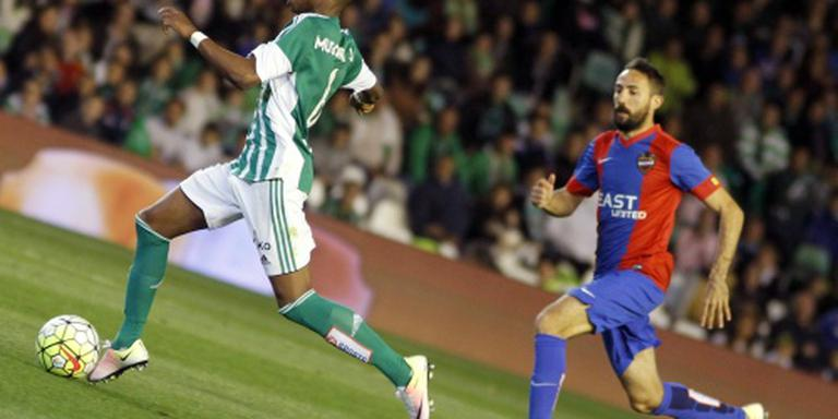 Levante verder in problemen dankzij Betis