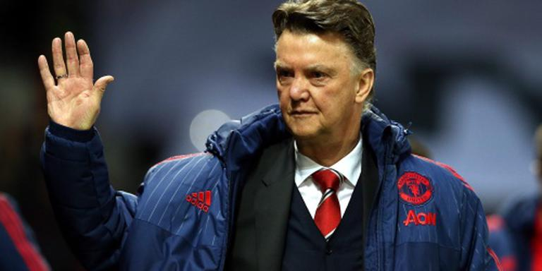 Van Gaal ziet fraaie zege United op Stoke