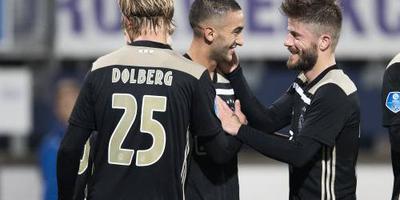 Ajax verslaat sc Heerenveen met 4-0