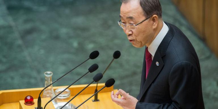 Ban bezorgd over vluchtelingenpolitiek