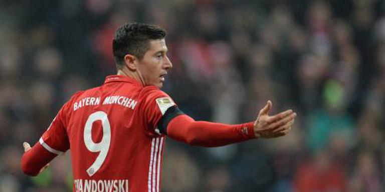 Lewandowski geblesseerd van training Bayern