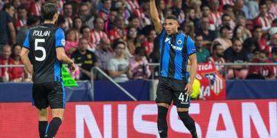 Club Brugge zonder international Groeneveld
