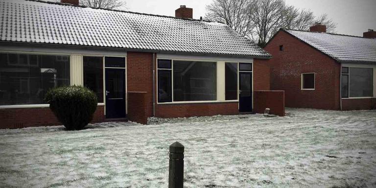 De woning waar de vrouwelijke verdachte, Desiree, woonde in Kruisweg. Foto DvhN