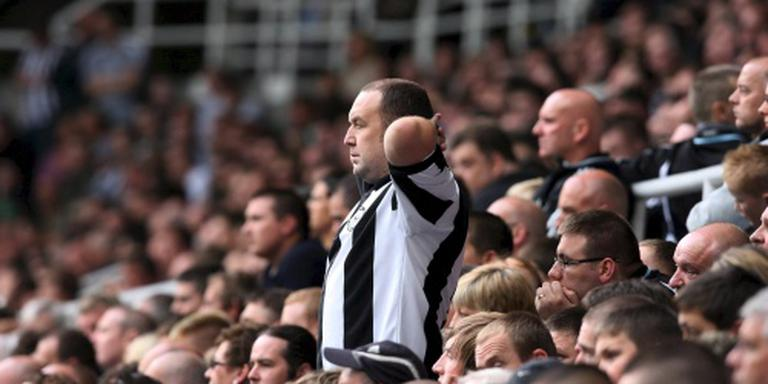 Fans Newscastle hekelen McClaren en team