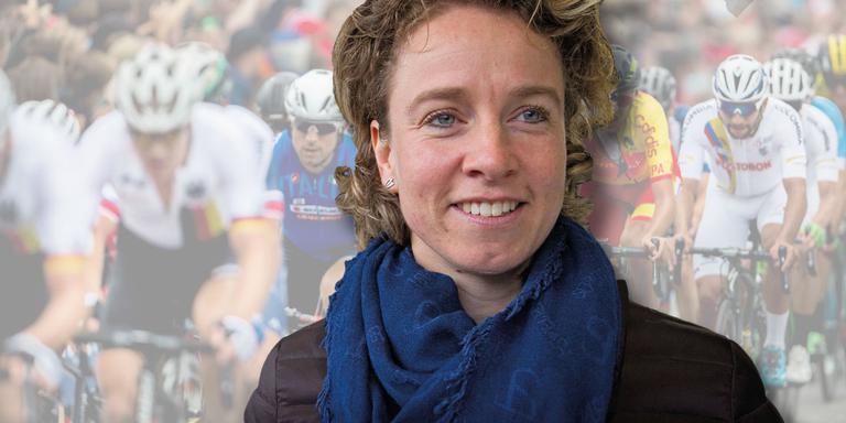 Renate Groenewold werkt mee om het WK wielrennen naar Noord-Nederland te halen. Montage: André Broere