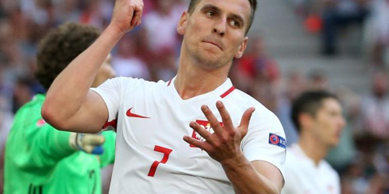 Polen met Milik tegen Zwitserland