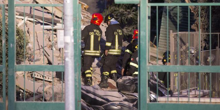 Wooncomplex van vier etages in Rome ingestort