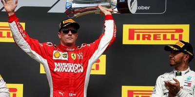Räikkönen: liever eerste dan tweede