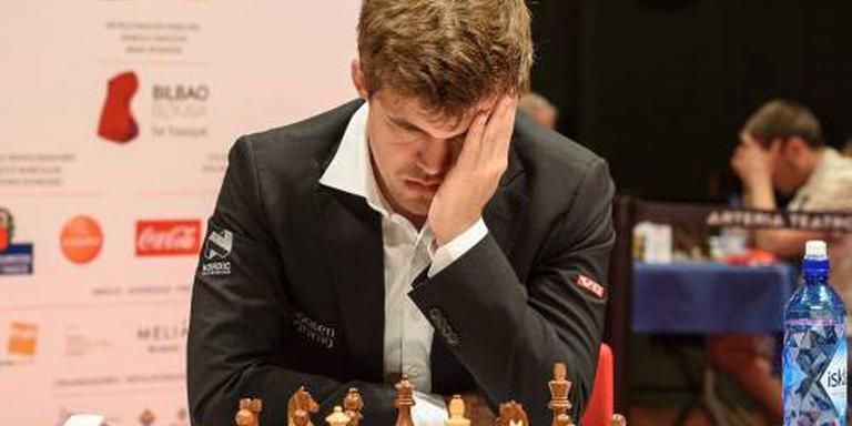 Carlsen en Karjakin na WK naar Wijk aan Zee