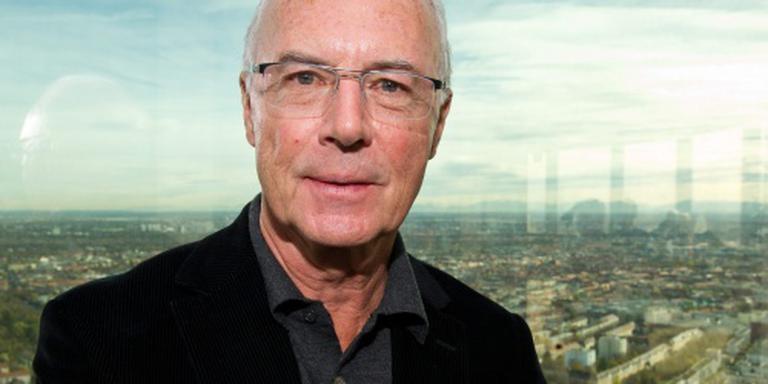 Boete en berisping voor Beckenbauer