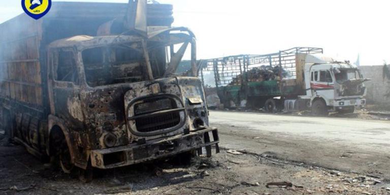 VN: hulpkonvooi getroffen door luchtaanval