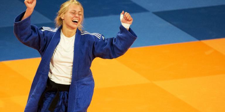 Vijf medailles op Europees Open judo